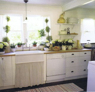 Over Counter Farmhouse Sink : farmhouse sinks and wood countertops?