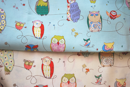 alexander henry spotted owl fabric
