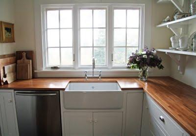 wood countertops on Farmhouse Countertops  id=90718