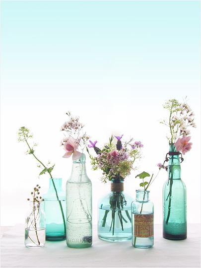 vintage bottles 1