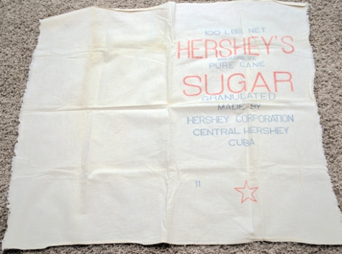 vintage hersheys sugar canvas