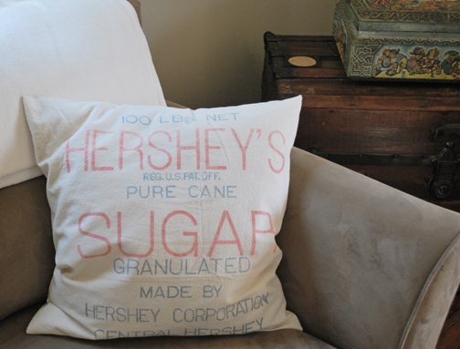 Hersheys Sugar Pillow