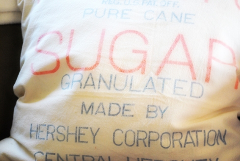 Hersheys Sugar Pillow Close-up