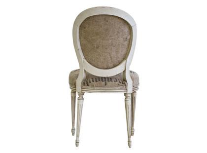 Inspiration Vintage Grain Sack Chairs