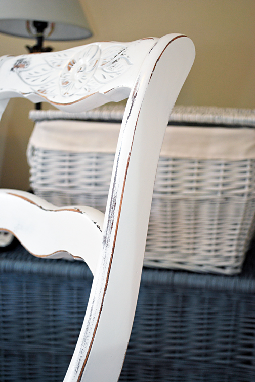 white rocker detail