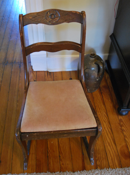 rocking chair before