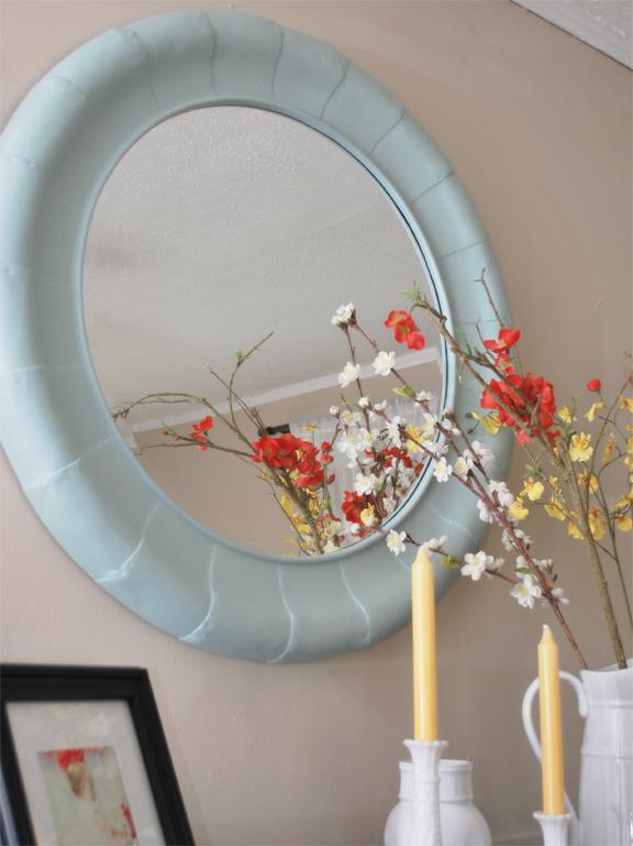 round mirror after