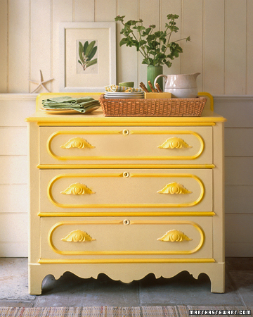 martha stewart paint, yellow