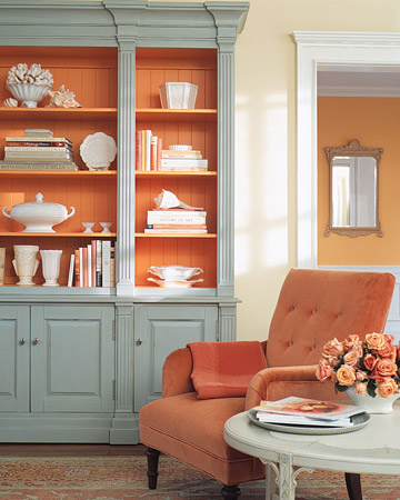 new martha stewart paint color- coral