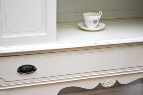 """eight"" bone china cabinet"