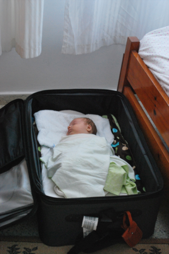 linc's bed in cyprus
