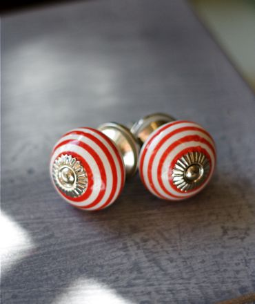 candy striped knobs