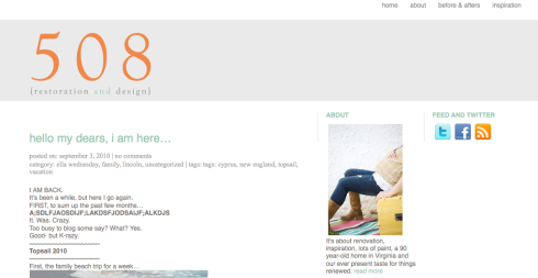 508 website sneak peak
