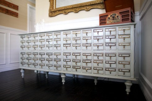 card catalog- dream book design
